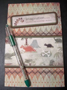 Cara's Scrap 'N Stamp Art: Altered Writer's Notebook and Pen