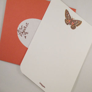 Whisker Graphics: Personalized Set of Notecards (not necessarily these) from Whitney's Shop
