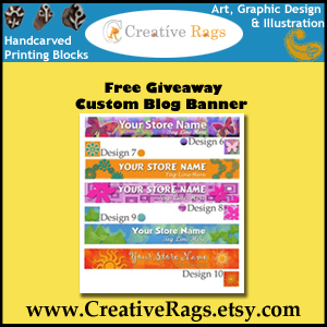 Creative Rags: New Blog Banner