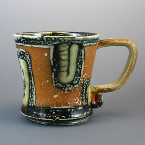 Janelle Songer's Ceramics: Hot Cocoa Mug