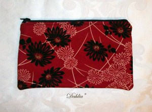 Dahlia Handbags: A Pouch for Electronics and Writing Supplies
