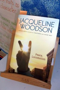 I have been using Woodson's Book as a demonstration text in my Reading Workshop Minilessons for the unit I'm presently teaching on inference and interpretation.
