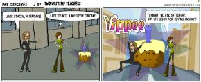 We created this comic with ToonDoo in under 10 minutes. If we had more time, we could have truly perfected it and made it a work of art using the ToonDoo Software Kevin showed us.