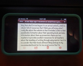 """There are a several problems with the text Siri transcribed from my voice.  First, it's devoid of punctuation and proper capital letters.  Second, Siri substituted the wrong words.  For instance, she wrote """"Enrose"""" instead of """"Rose"""" and """"tax"""" instead of """"texts,"""" """"passbooks"""" instead of """"past books,"""" and """"formation"""" instead of """"information.""""  Changes the meaning of what I wrote, doesn't it?"""