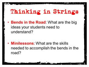 Slide from MEANINGFUL MINILESSON presentation; Citation: DAY BY DAY by Ruth Ayres and Stacey Shubitz (Stenhouse, 2010)