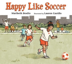 Maribeth Boelts and Lauren Castillo's book goes on-sale today.