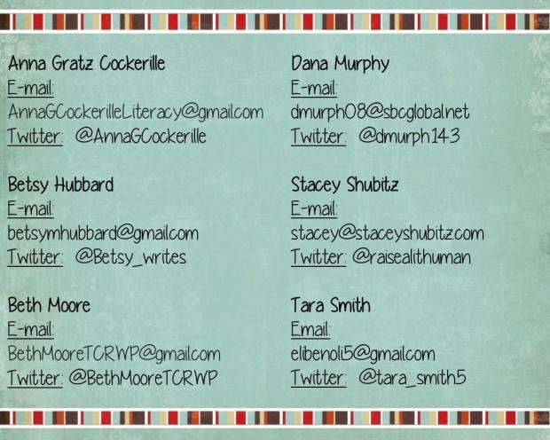 #TWTBlog Contact Us