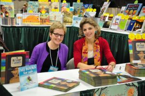 Melissa Sweet and Jen Bryant at NCTE 2012