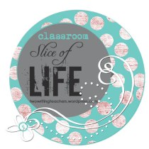 This is the official badge of the Classroom Slice of Life Story Challenge, which you may post on your blog if you're participating with your students.