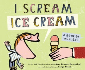 Check out my interview with author Amy Krouse Rosenthal. Be sure to leave a comment on this post so you can have a chance to win a copy of I Scream Ice Cream.