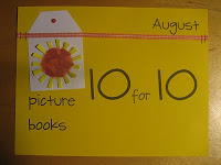 Picture Book 10 for 10 Challenge