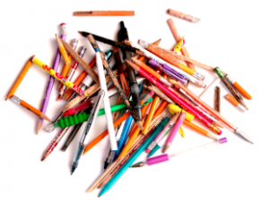 Pens Versus Pencils. Bring. It. On.