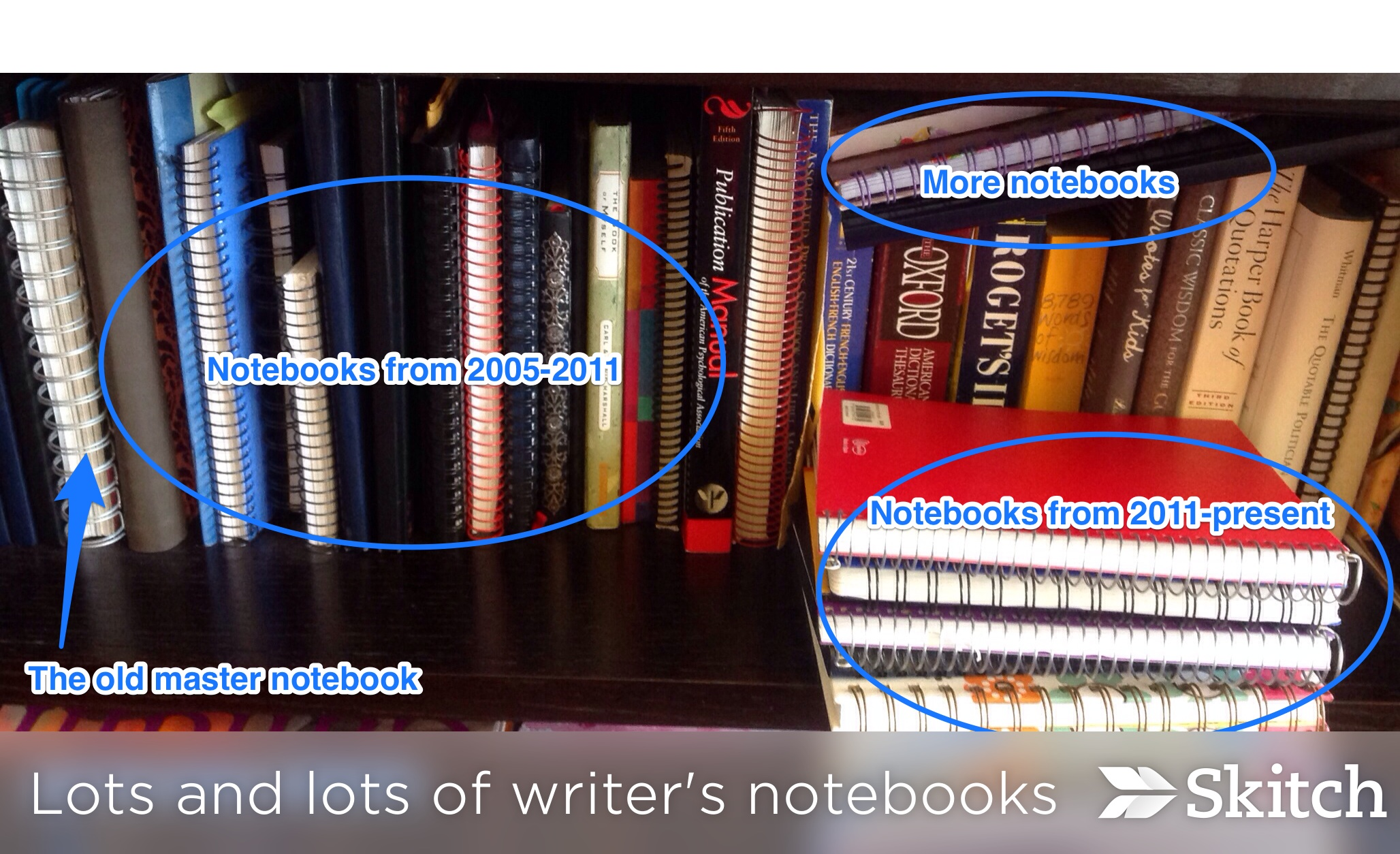 a master writer s notebook in evernote two writing teachers stacey s writer s notebooks