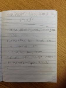 GS content poem
