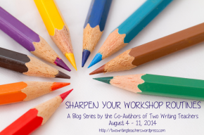Let's have a conversation about sharpening workshop routines.
