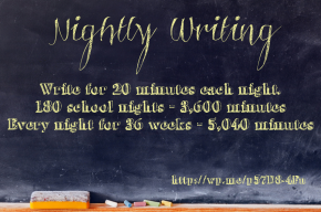 Nightly Writing Stats -- Two Writing Teachers