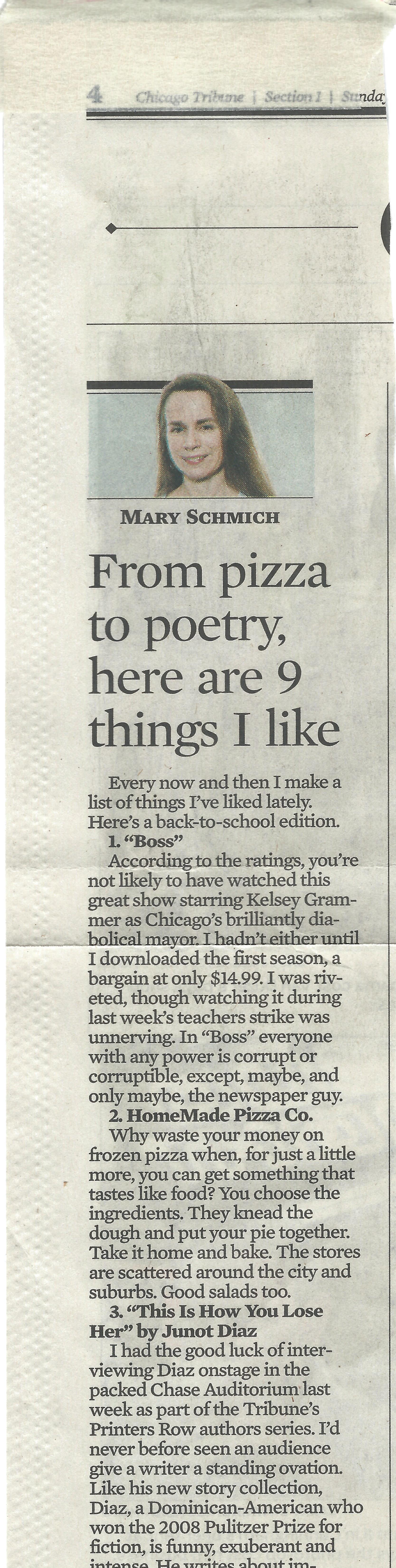 essay written by mary schmich