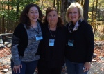 With Lynne and Rose in the Poetry Garden