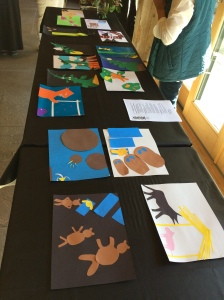 """Participants illustrated a scene from """"The Three Little Pigs,"""" """"Jack and the Beanstalk,"""" or """"Goldilocks and the Three Bears."""""""