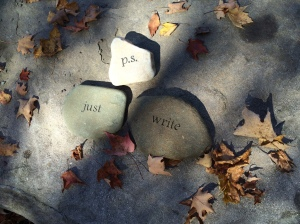 A little something I created in the Highlights Poetry Garden before I went home on Sunday.