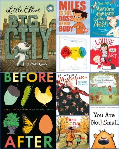 Please leave a comment on this post for a chance to win a copy of one of these picture books.  (Be sure to read the giveaway information at the bottom of the post for instructions about how to enter.)