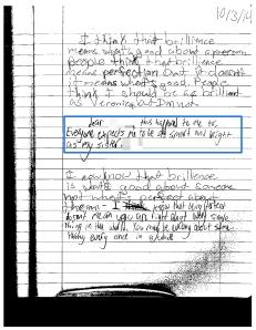 Written Conversations 3