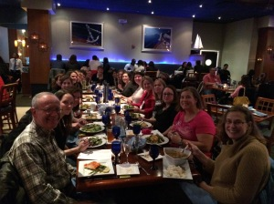 #SOL14 Dinner at #NCTE14
