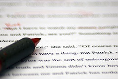 Red Pen by Jenny Kaczorowski is licensed under CC by 2.0