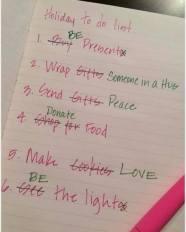 holiday grateful list