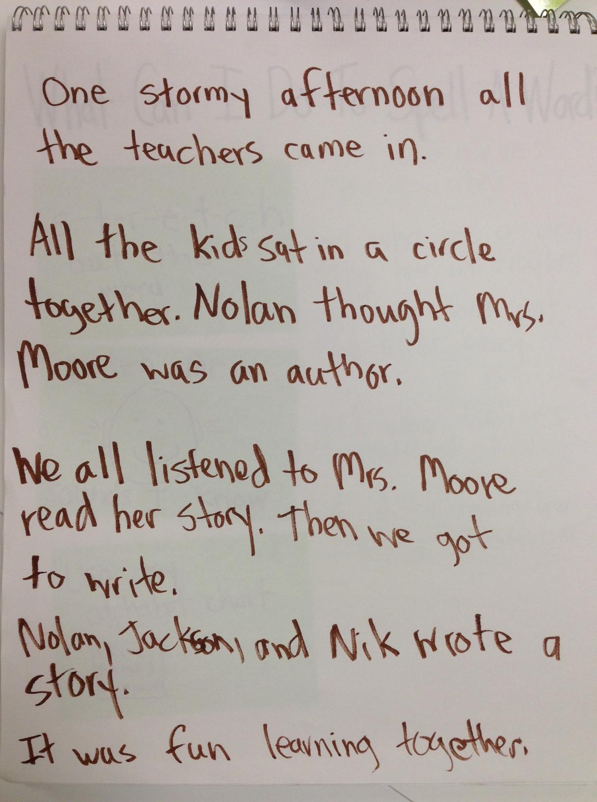 "... for ""Lucy Calkins First Grade Writing Paper"" – Calendar 2015"
