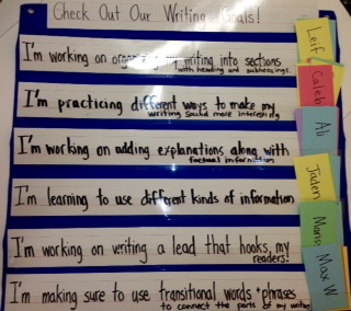 goals for writing class How to set goals whether you have  writing your goals will make them harder to  your first goals may be to take a bookkeeping class and to find the perfect.