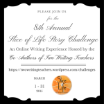 8th AnnualSlice of Life Story Challenge Invite