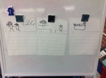 My sketches from the minilesson.