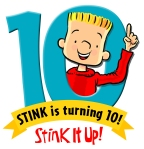 Stink_10th_logo