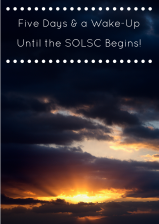 The 8th Annual SOLSC begins in five days! #TWTBlog #sol15