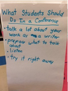 First Grade Conferences