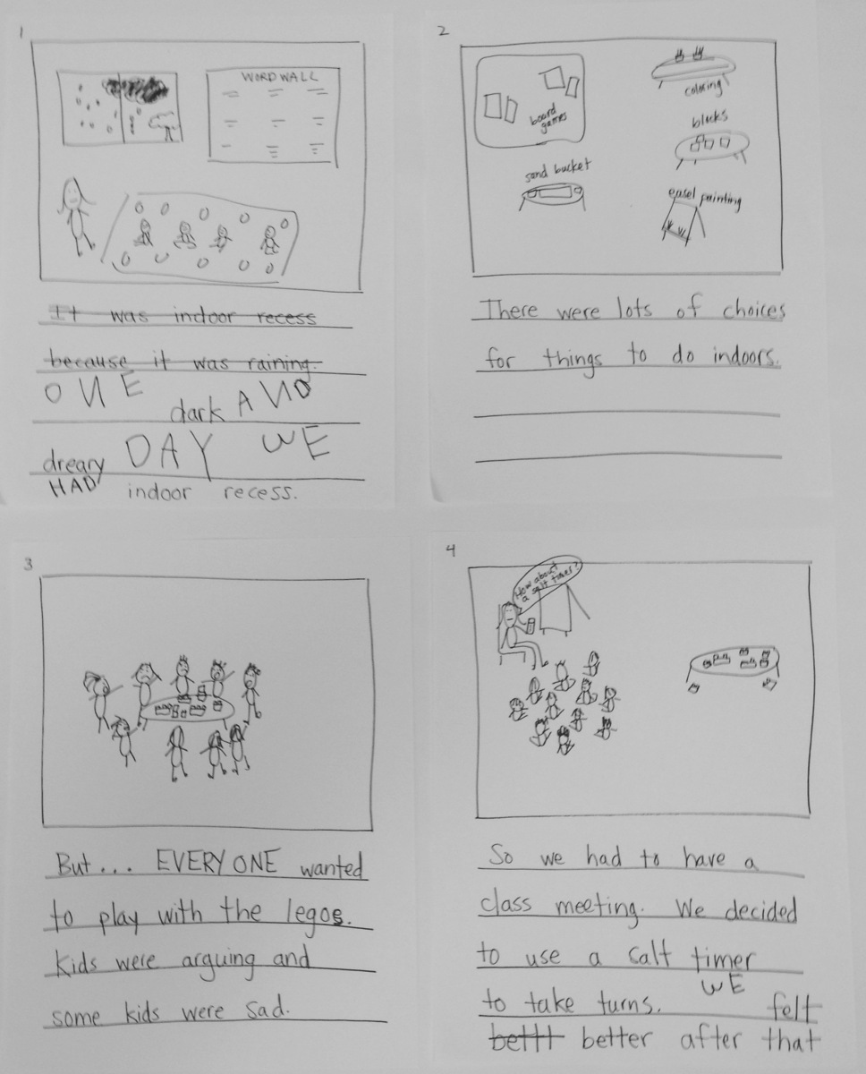 Conferring Toolkits: Class Stories, Shared Writing and Interactive Writing