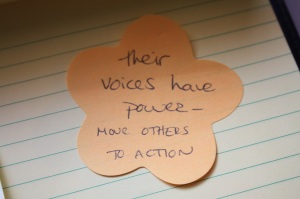 voices have power