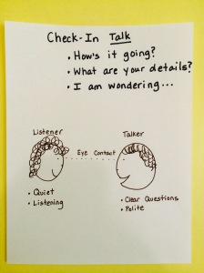 check-in talk