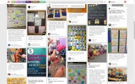A sampling of first day of school ideas on Pinterest.