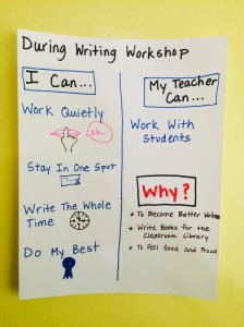 workshop I can chart