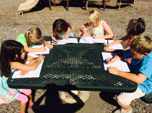 writing camp_outside