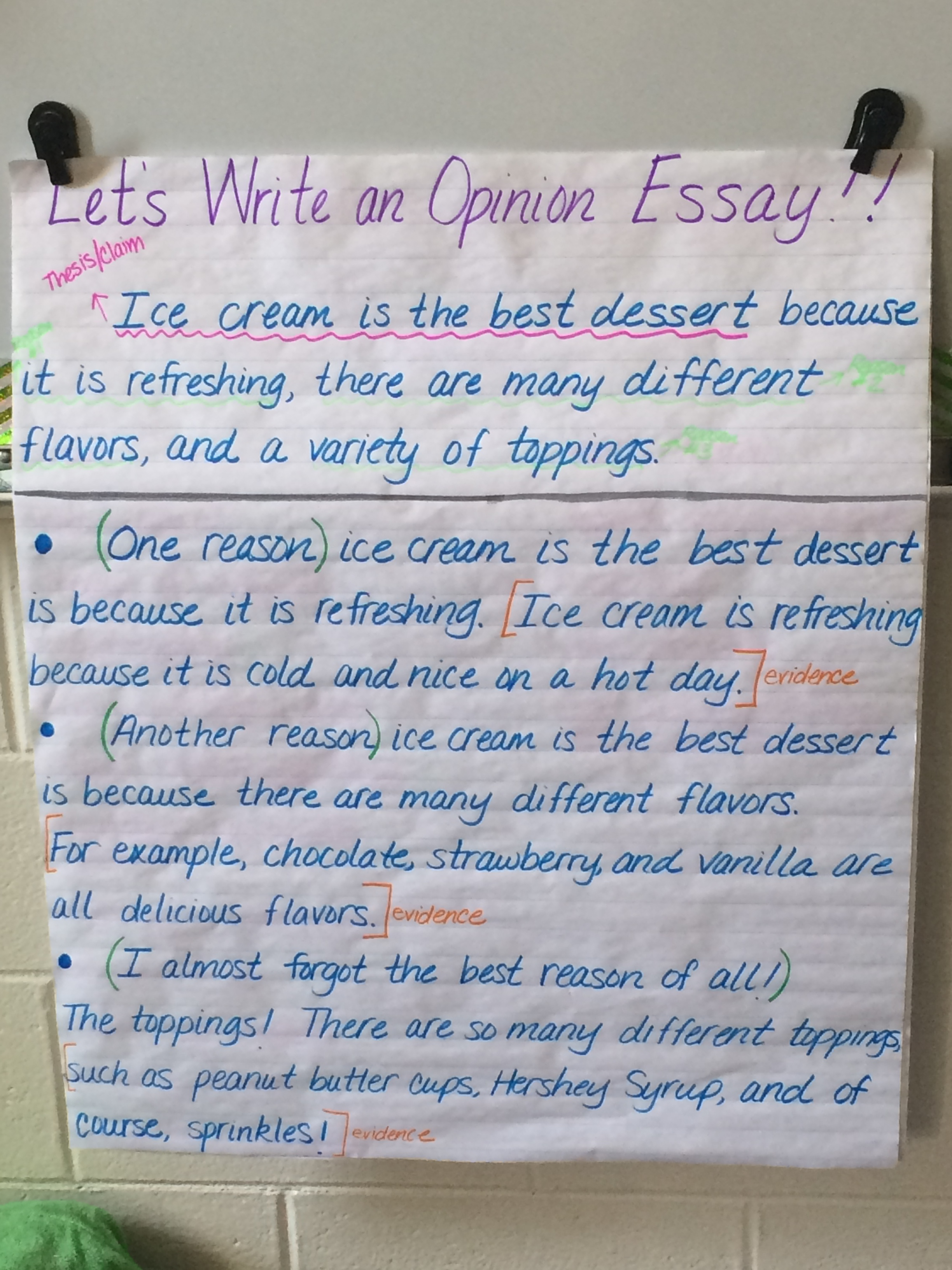 an anchor chart mashup two writing teachers  1262