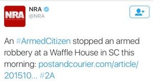 NRA tweet