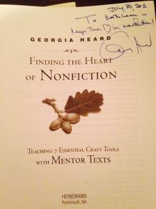 georgia heard autograph