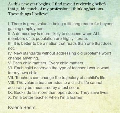 Kylene's wise words