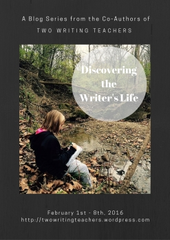 Discovering the Writing Life Blog Series