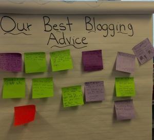 best blogging advice