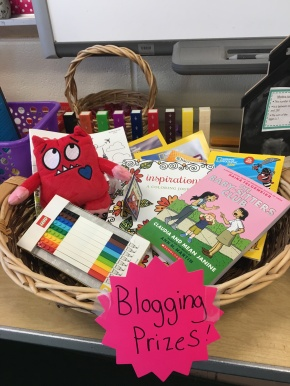 Thirty Days of Blogging with Third Graders