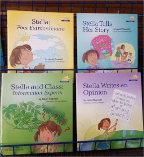 Leave a comment on this post for a chance to win one of five copies of Janiel Wagstaff's Stella Series Books.